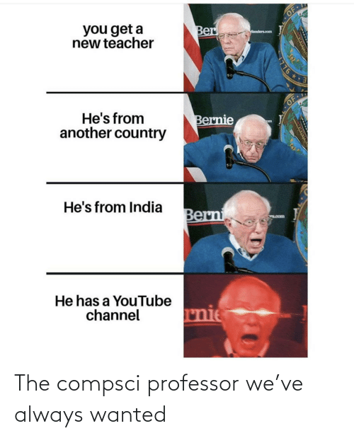 wanted: The compsci professor we've always wanted