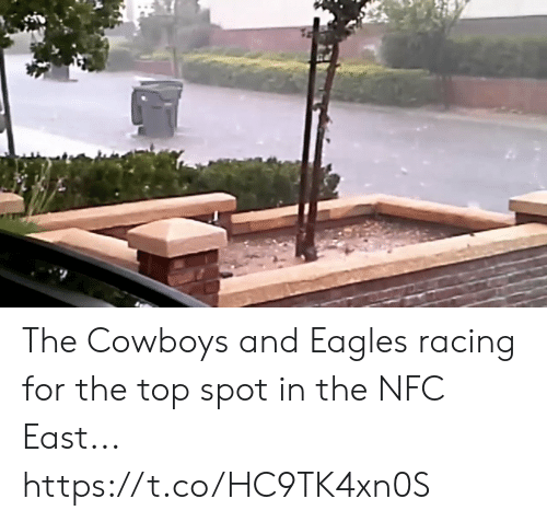Dallas Cowboys: The Cowboys and Eagles racing for the top spot in the NFC East... https://t.co/HC9TK4xn0S