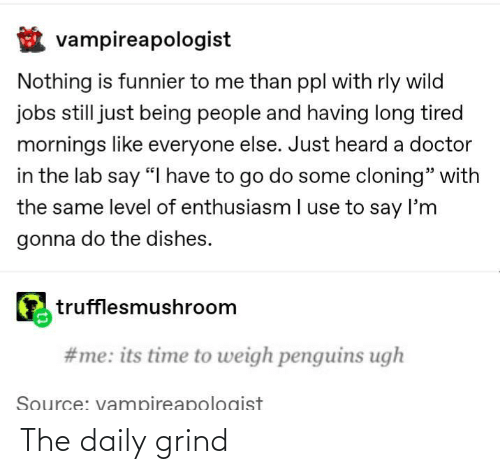 The: The daily grind