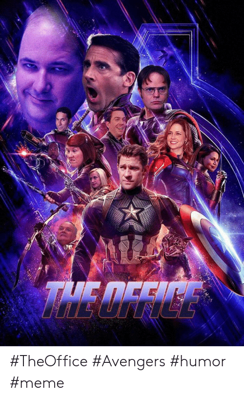 Meme, Avengers, and Humor: THE DFFICE #TheOffice #Avengers #humor #meme