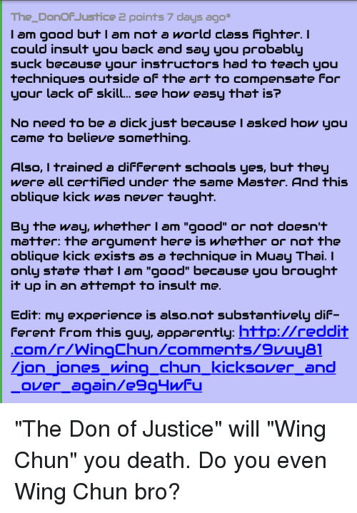 The_DonoF Justice 2 Points 7 Days Ago* I Am Good but I Am