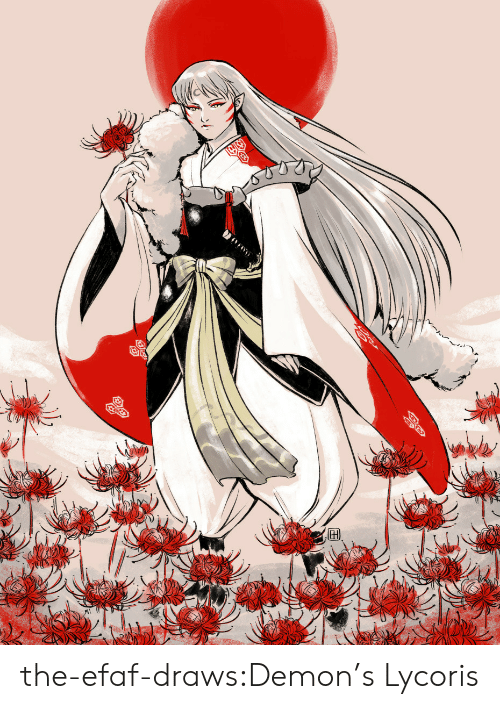 Target, Tumblr, and Blog: the-efaf-draws:Demon's Lycoris