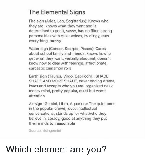 The Elemental Signs Fire Sign Aries Leo Sagittarius Knows Who They