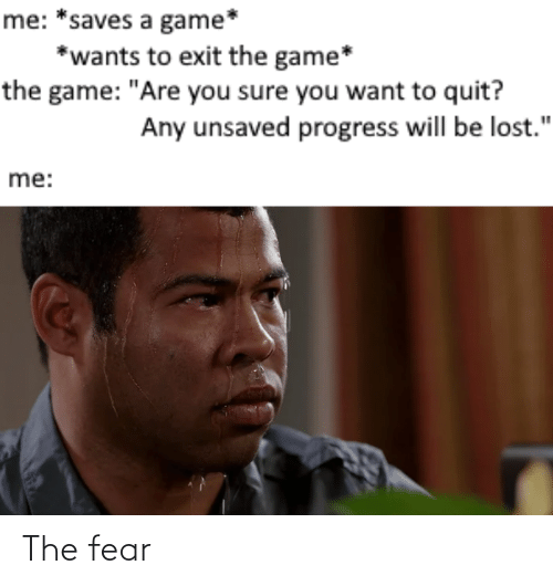 Fear, The, and The Fear: The fear