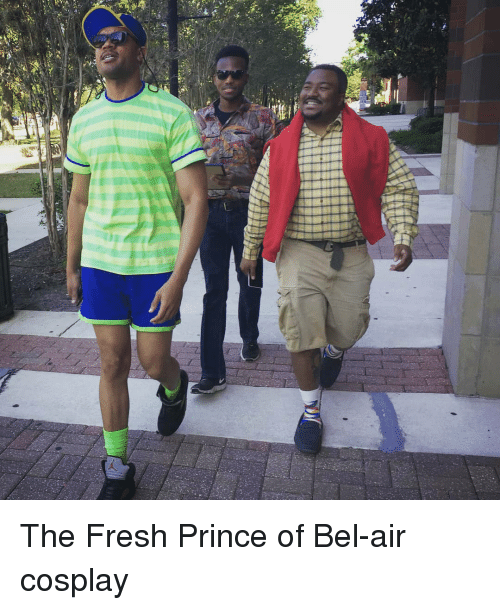 Fresh, Fresh Prince of Bel-Air, and Funny: The Fresh Prince of Bel-air cosplay