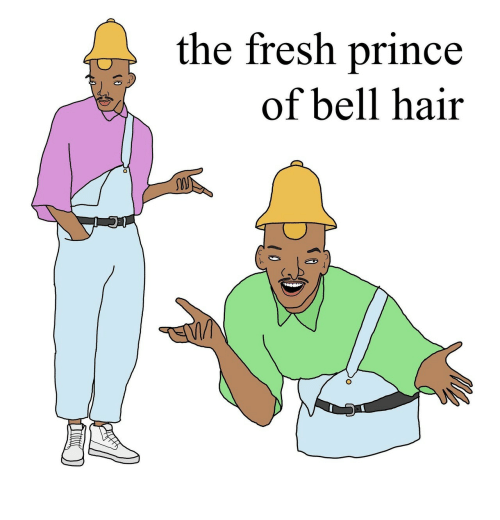 Fresh, Prince, and Hair: the fresh prince  of bell hair