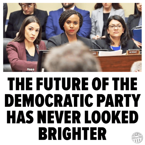 Future, Memes, and Party: THE FUTURE OF THE  DEMOCRATIC PARTY  HAS NEVER LOOKED  BRIGHTER  Other98