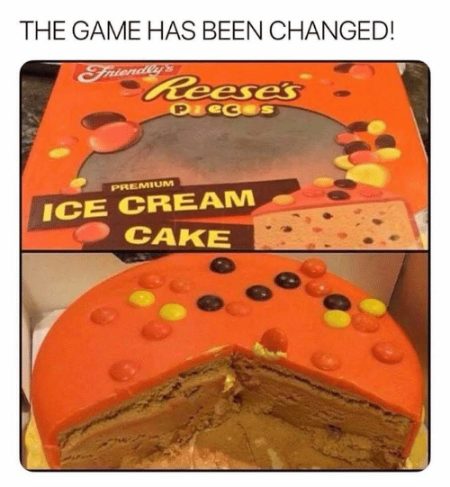 Funny, The Game, and Cake: THE GAME HAS BEEN CHANGED!  Faienialeeese's  P eceS  PREMIUM  ICE CREAM  CAKE