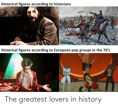 greatest: The greatest lovers in history