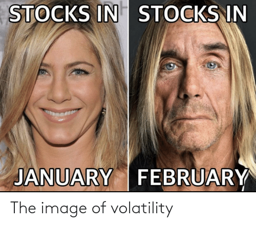 Image Of: The image of volatility