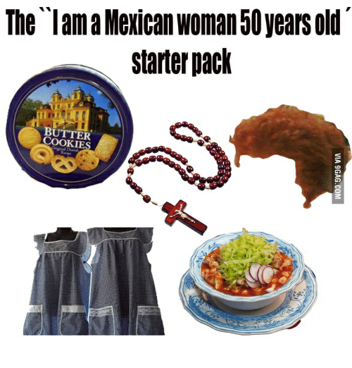 the lama mexican woman 50 years old starter pack butter cookies