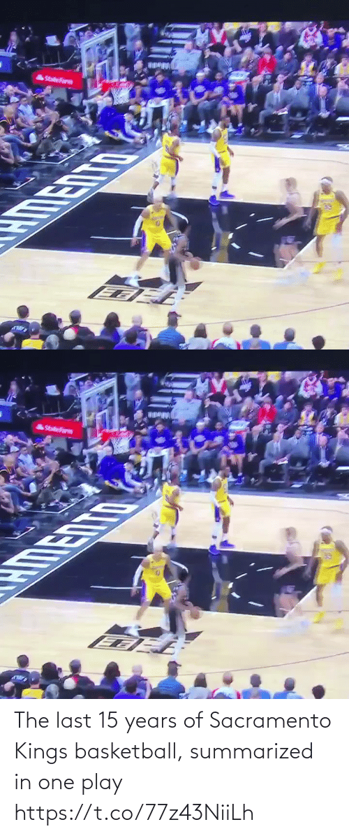 Basketball: The last 15 years of Sacramento Kings basketball, summarized in one play https://t.co/77z43NiiLh