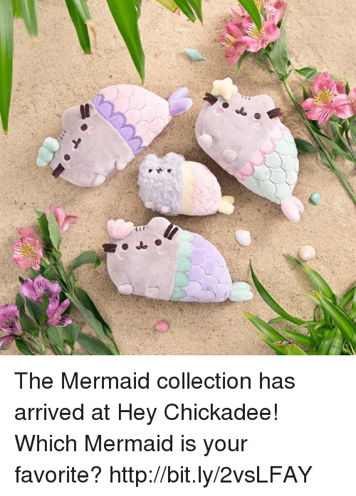 chickadee: The Mermaid collection has arrived at Hey Chickadee!  Which Mermaid is your favorite? http://bit.ly/2vsLFAY