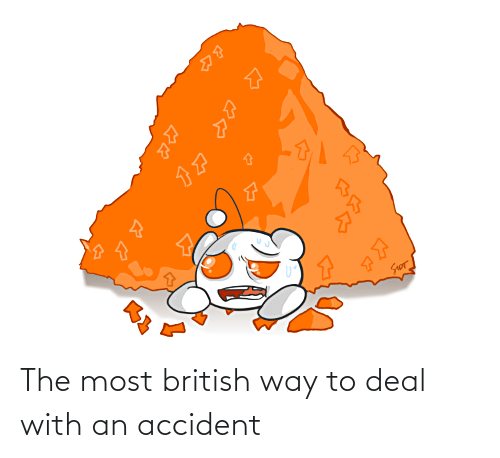 British: The most british way to deal with an accident