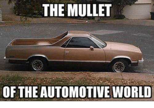 Automotive: THE MULLET  OF THE AUTOMOTIVE WORLD
