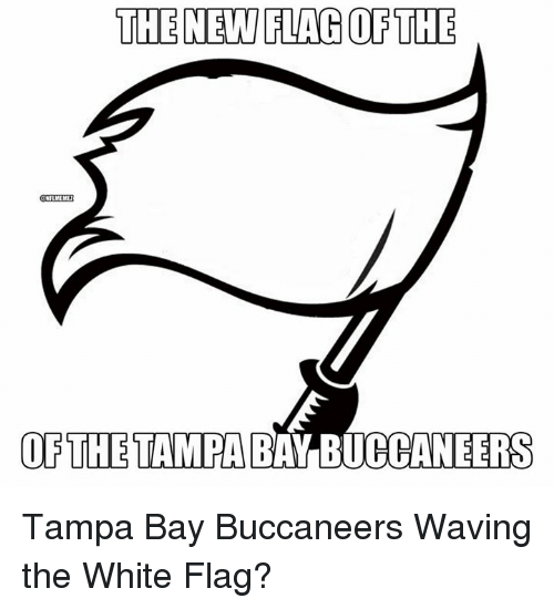 tampa bay buccaneers: THE NEW LAG THE  NFLMEM  OF THE TAMPA BAY BUCCANEERS Tampa Bay Buccaneers Waving the White Flag?