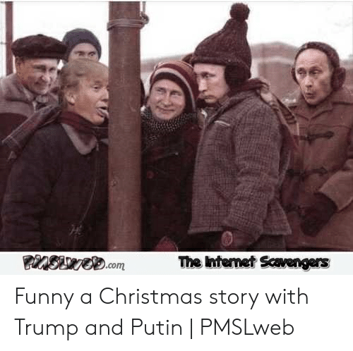 The Ntemet Scavengers Funny A Christmas Story With Trump And