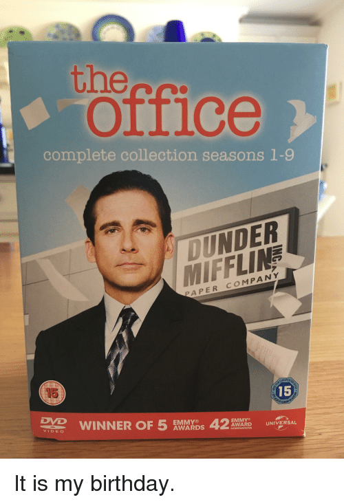 The Office Complete Collection Seasons 1 9 Dunder Mifflin Paper