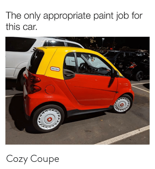 cozy: The only appropriate paint job for  this car. Cozy Coupe