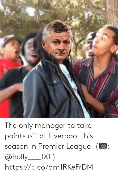 Premier League: The only manager to take points off of Liverpool this season in Premier League. (📷: @holly____00 ) https://t.co/am1RKeFrDM