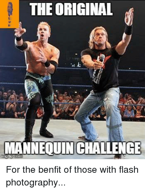 Mannequin Challeng: THE ORIGINAL  MANNEQUIN CHALLENGE For the benfit of those with flash photography...