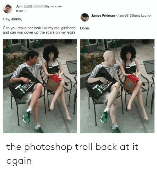 Troll: the photoshop troll back at it again