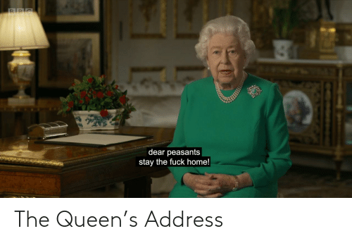 the queen: The Queen's Address