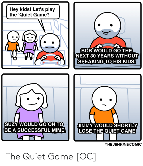 Quiet: The Quiet Game [OC]