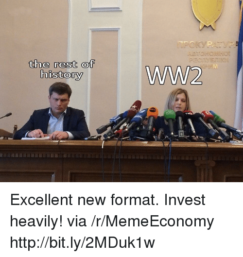 Http, Ww2, and Invest: the rest of  ww2 Excellent new format. Invest heavily! via /r/MemeEconomy http://bit.ly/2MDuk1w