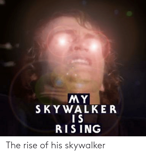 Of His: The rise of his skywalker