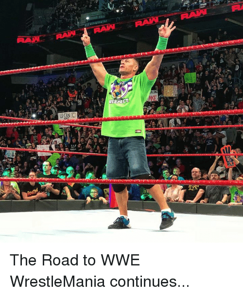 World Wrestling Entertainment, Wrestlemania, and The Road: The Road to WWE WrestleMania continues...