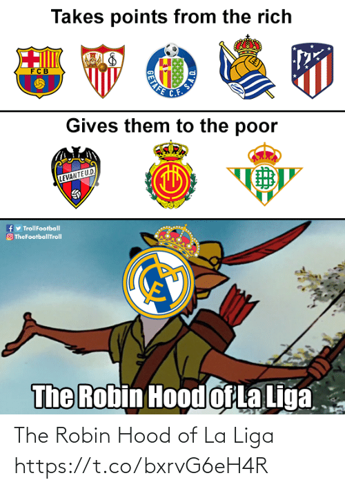 robin: The Robin Hood of La Liga https://t.co/bxrvG6eH4R