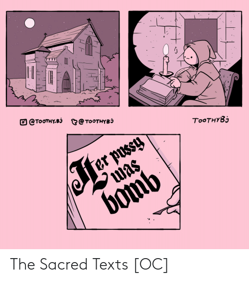 Texts: The Sacred Texts [OC]