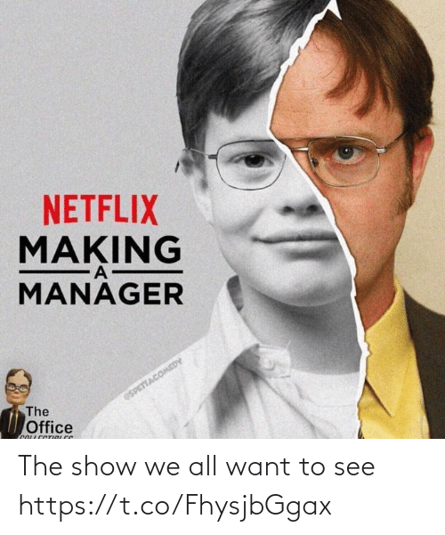 show: The show we all want to see https://t.co/FhysjbGgax