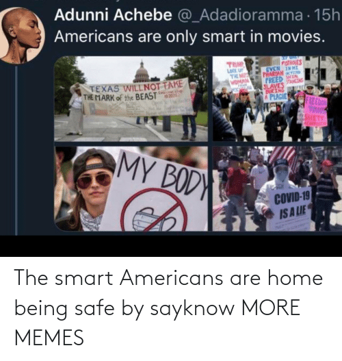 Dank, Memes, and Target: The smart Americans are home being safe by sayknow MORE MEMES