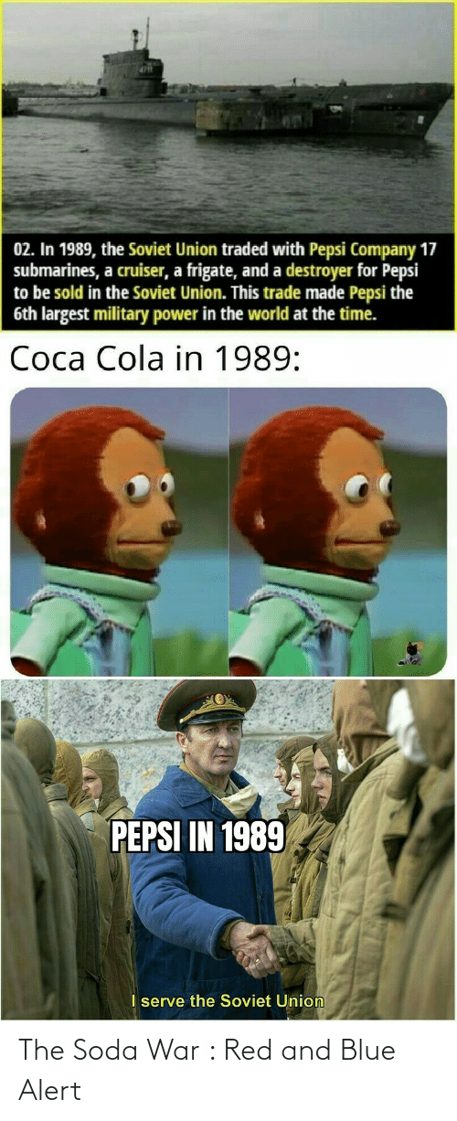 soda: The Soda War : Red and Blue Alert