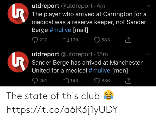 The State: The state of this club 😂 https://t.co/a6R3j1yUDY