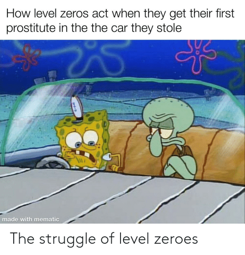 zeroes: The struggle of level zeroes