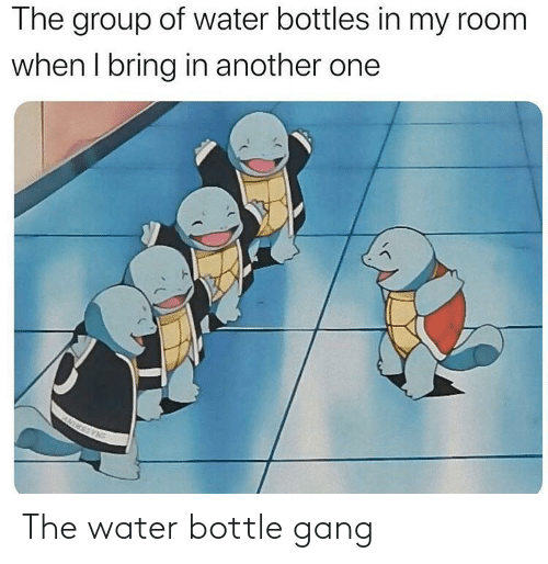 Water: The water bottle gang