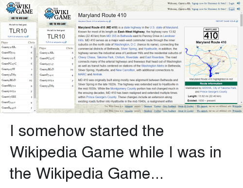 🅱️ 25+ Best Memes About the Wikipedia Game | the Wikipedia
