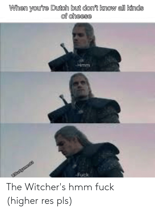 Witchers: The Witcher's hmm fuck (higher res pls)