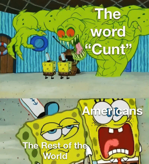 "Cunt, Word, and World: The  word  Cunt""  Americans  The Rest of the  World"