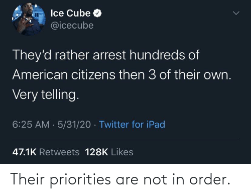their: Their priorities are not in order.