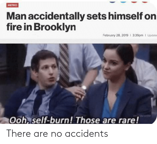 There Are: There are no accidents