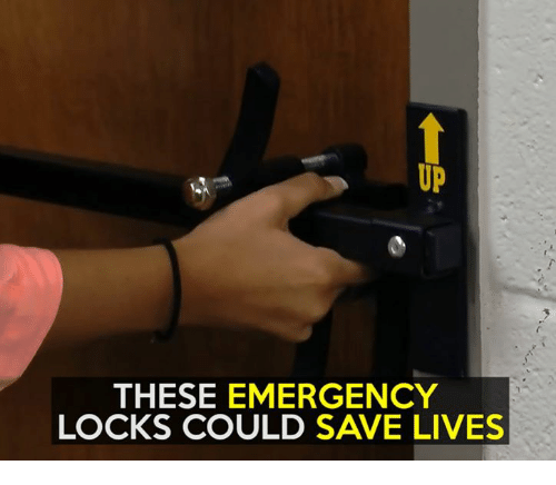 Emergent: THESE EMERGENCY  LOCKS COULD SAVE LIVES