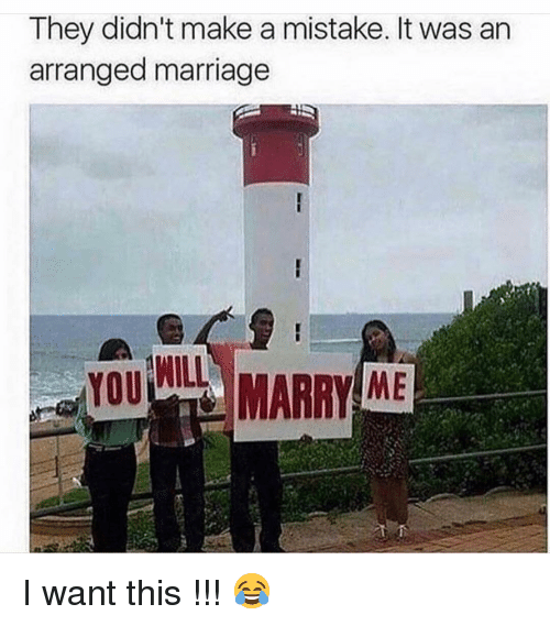 Funny, Marriage, and Arranged Marriage: They didn't make a mistake. It was an  arranged marriage  WILL  ME I want this !!! 😂