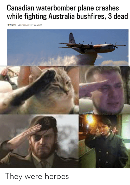 they: They were heroes