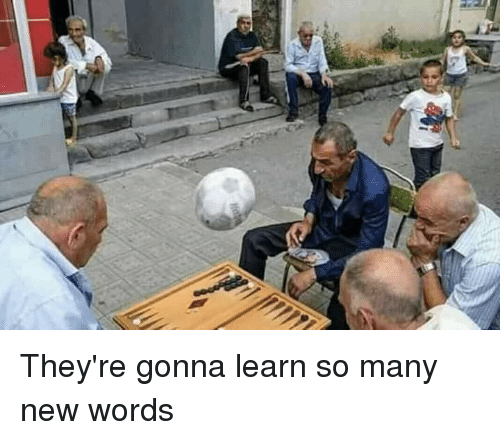 Funny, Words, and New