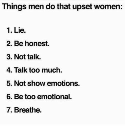 how to lie to women