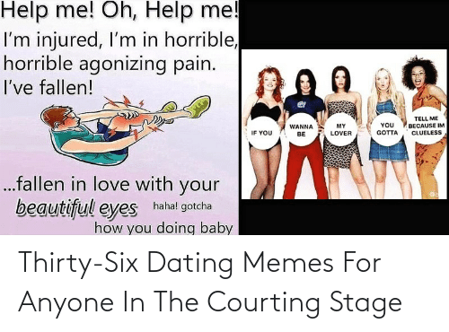 courting: Thirty-Six Dating Memes For Anyone In The Courting Stage